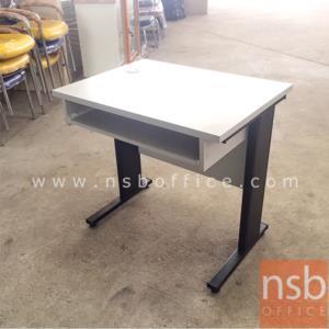 A18A014:โต๊ะคอมพิวเตอร์ ไม่มีที่วางซีพียู  ขนาด 80W ,100W cm.  เมลามีน