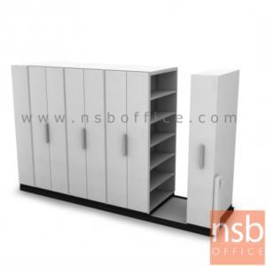 D01A009:ตู้รางเลื่อนแบบมือผลัก TAIYO-ST มอก. 1496-2541 ขนาด 4, 6, 8, 10 ตู้