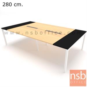 A05A176:โต๊ะประชุมทรงสี่เหลี่ยม 150D cm. NSB-SQ15  พร้อม popup แบบสองทาง