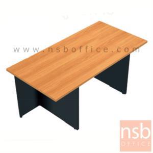 A12A005:โต๊ะผู้บริหารทรงสี่เหลี่ยมใหญ่พิเศษ รุ่น TY-4XD ขนาด 180W ,200W cm.  เมลามีน ขาโต๊ะมีปุ่มปรับระดับ
